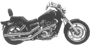 honda shadow 1100 vt1100 motorcycles 1989 vt1100c 89 shadow 1100