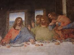 a last supper for half da vinci s masterpiece in milan