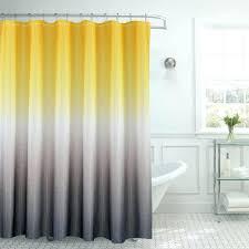 smlf null waffle weave in w x in l yellow grey yellow grey chevron shower curtain bathroom design