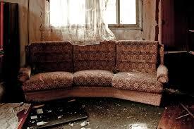 old tatty sofa