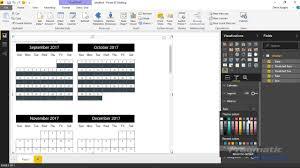 Custom Photo Calender Power Bi Custom Visuals Custom Calendar By Akvelon