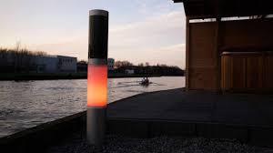 solar outdoor lighting nxt solar powered solar lamp post rgb color led garden light for