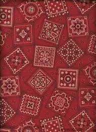 Red Bandana Quilt Fabric / Cranston Print Works By the Yard ... & Red Bandana Quilt Fabric / Cranston Print Works By the Yard / Autumn / 100%  Cotton / Country Western Cowboy Cowgirl / Picnic / Rodeo Stash Adamdwight.com