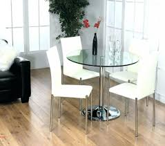 gorgeous inspiration gl dining room sets for 4 round table set toom top