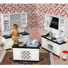 Miniature Dollhouse Kitchen Furniture line