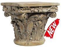 Display Stand For Sculpture Greek Column Pedestal Stand Garden Yard Outdoor Sculpture Model 66