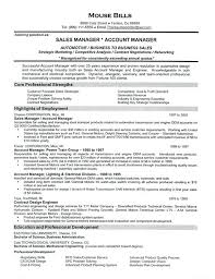 Examples Of A Sales Resume Car Sales Sales Manager Resume Examples