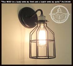 wall light bulb covers mount fixture with moving a box