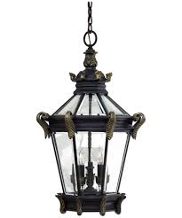 hang lighting. Shown In Heritage With Gold Finish And Clear Beveled Glass Hang Lighting