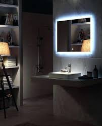 backlit bathroom mirror diy mirror mirror mirror powder room contemporary diy led