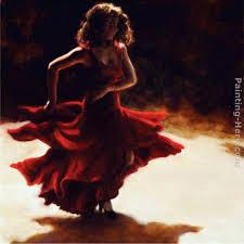 spirit of flamenco painting flamenco dancer spirit of flamenco art painting