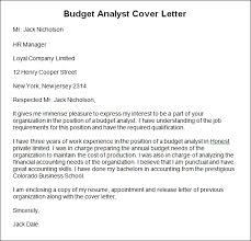 Budget Letter Sample - Cover Letter Samples - Cover Letter Samples