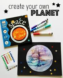 Design Your Own Planet Create A Planet Art Project Space Theme Preschool Planets