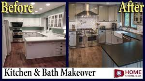 Before After Country Kitchen And Bath Remodel Klm Kitchens Baths Floors Youtube