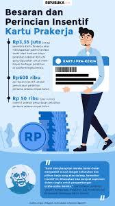 Dikutip dari prakerja.go.id, kartu pra kerja tidak hanya untuk mereka yang sedang mencari pekerjaan, tetapi juga untuk buruh, karyawan dan pegawai atau semua warga indonesia. Senin Gelombang 2 Buka Ini Cara Pendaftaran Kartu Prakerja Republika Online