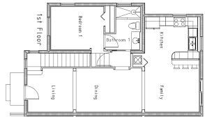 Open Floor Plan Homes Designs  AhscgscomOpen Floor Plan Townhouse