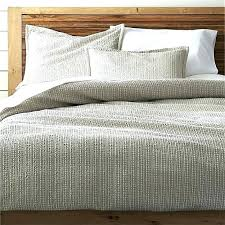 crate and barrel duvet covers pillow shams insert bedding canada duv