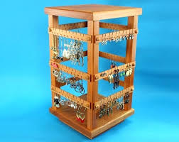 earring holders toms small cherry four sided spinning holder hanger studs card with logo organizers earring holders