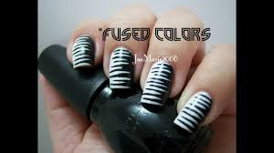 Pictures Of Black And White Nail Designs