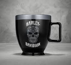 Ceramic Skull Latte Mug  Harley-Davidson