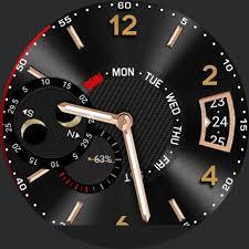huawei smartwatch faces. huawei black \u0026 gold lunar smartwatch faces c