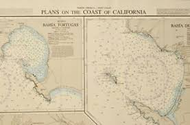 British Admiralty Charts List Details About Admiralty Chart 2885 California