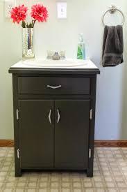 Bathroom Floor Cabinets Apartments Lovely Dark Bathroom Floor Cabinets With Double Doors