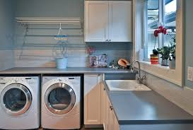 view in gallery laundry room rack