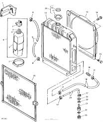 John deere parts diagrams john deere 750 tractor pc1873 radiator