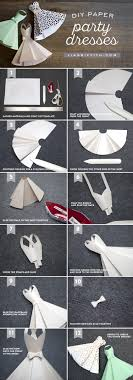 Paper Dress Diy Wedding Decorations Wedding Dress Tutorials And