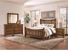 Maple Furniture Bedroom Maple Road Solid Wood King Slat Poster Bed Darvin Furniture
