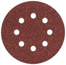 <b>Шлифовальный круг</b> на липучке <b>BOSCH</b> 2609256A23 <b>125 мм</b> 5 шт