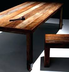 dining table made from reclaimed wood wood furniture wheel dining table desk beam bench made from dining table made from reclaimed wood