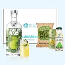 absolut pears vodka gift set