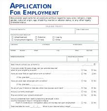 Employment Job Application Form Free Download Employee Application Form Savebtsaco Free Job Free