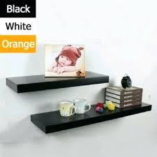 Floating Shelves Kmart Beauteous Rectangle Shelf Floating Shelves In Black White Red Or Orange Matt