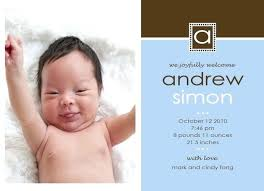 Baby Thank You Card Ideas Baby Card Announcements Co Thank You Birth