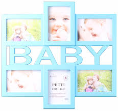 baby collage frame 2895 bb baby collage 6 photo frame blue pink case pack 8 pcs