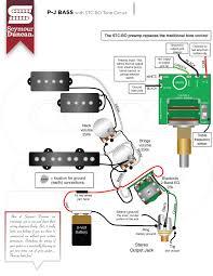 bass seymour duncan part  p j bass stc bo tone circuit