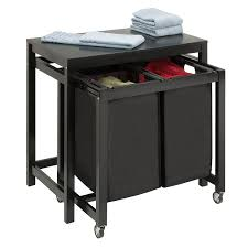 Amazon.com: Honey-Can-Do SRT-03571 Double Sorter Folding Table ...