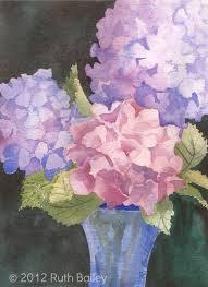 14 of 120 paintings hydrangeas