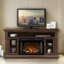 napoleon the canterbury 64 in electric fireplace entertainment with centers decor 0