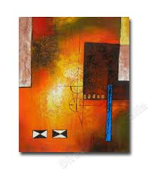blaze two affordable oil paintings canvas abstract art