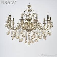luxury crystal chandelier light fixture good quality res suspension lampara de techo dining room living room lighting green chandelier multi coloured