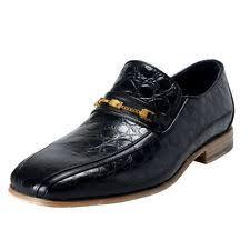 versace dress shoes. versace men\u0027s black croc print leather loafers shoes sz 6 7 8 9 10 11 12 13 14 dress a