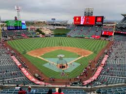 Angel Stadium Section V418 Home Of Los Angeles Angels Of