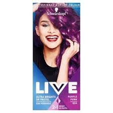 Live Ultra Brights 094 Purple Punk Hair Dye