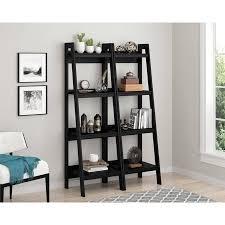 mainstays 3 piece home office bundle black. Ameriwood Home Lawrence 4 Shelf Ladder Bookcase Bundle, Black (Set Of 2) Mainstays 3 Piece Office Bundle .