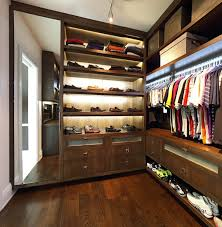 Small Closet Lighting Idea