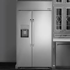 42 inch built in refrigerator. Beautiful Refrigerator Dacor Heritage DYF42SBIWS  Front View  Lifestyle  To 42 Inch Built In Refrigerator AJ Madison